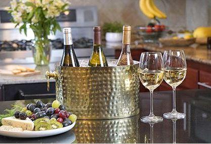 BRASS 2-BOTTLE WINE CHILLER collection with 1 products
