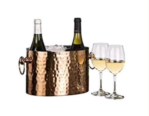 COPPER 2-BOTTLE WINE CHILLER collection with 1 products