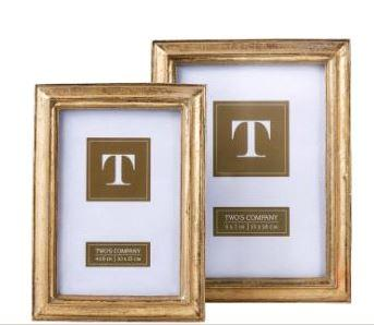 Bailey\'s Exclusives   4X6 Gold Leaf Frame $25.00