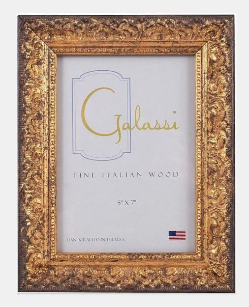 $49.00 5X7 Gold Antoinette Distressed Frame