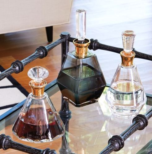 $130.00 SMALL PRISM DECANTER