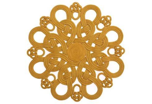 Bailey's Exclusives  Bailey's Fine Jewelry GOLD DAISY PLACEMAT $68.00