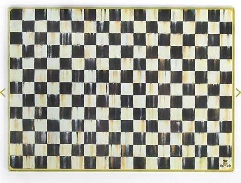Bailey's Exclusives  Bailey's Fine Jewelry MACKENZIE CHILDS COURTLY CHECK CUTTING BOARD $35.00