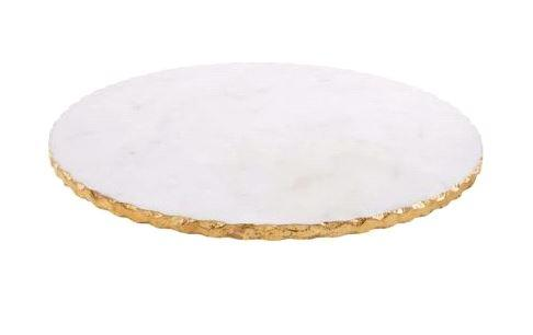 $65.00 Gold Marble Lazy Susan