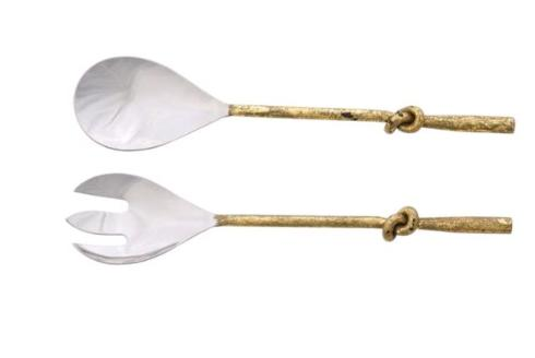 S/2 GOLD KNOT SERVERS collection with 1 products