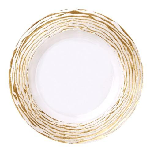 Bailey's Exclusives  Bailey's Fine Jewelry CHARGER STRIPE GOLD RUFFLE $48.00