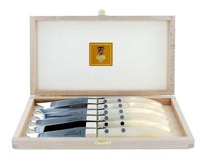 $150.00 Natural Steak Knives, Set of 6