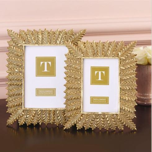 5x7 Gold Leaves Frame