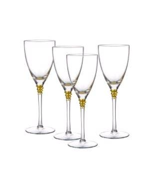 Bailey's Exclusives  Bailey's Fine Jewelry S/4 GOBLET GOLD HELIX $40.00