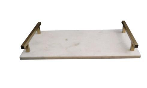 Bailey's Exclusives  Bailey's Fine Jewelry SM MARBLE TRAY WITH HANDLES $40.00