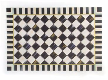 Mackenzie Childs Courtly Check Accessories Products