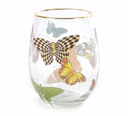 Butterfly Garden Glassware collection