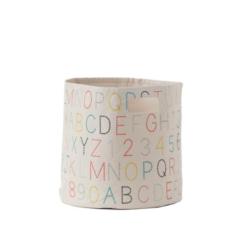 Pehr   Alphabet Bin $40.00