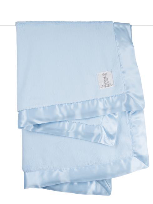 Little Giraffe   Luxe Baby Blanket Blue  $86.00