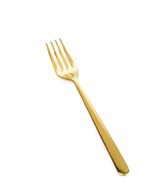$29.65 Linea Ice Oro Table Fork