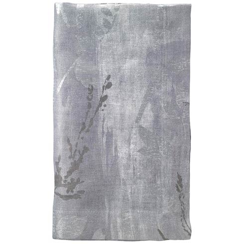 "$81.00 Silver  21"" Napkin - Pack of 4"