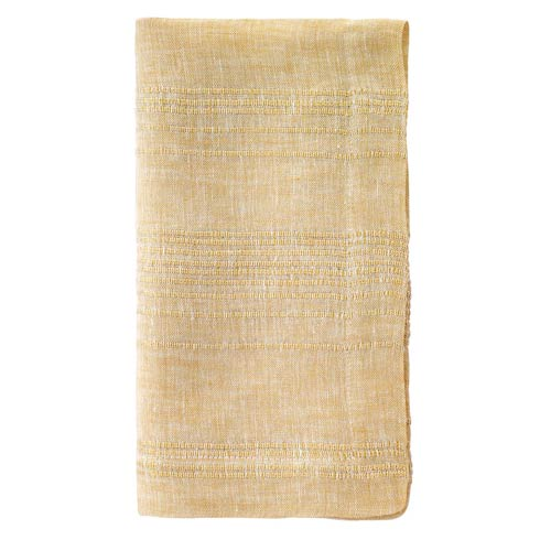"$81.00 Gold 22"" Napkins - Pack of 4"