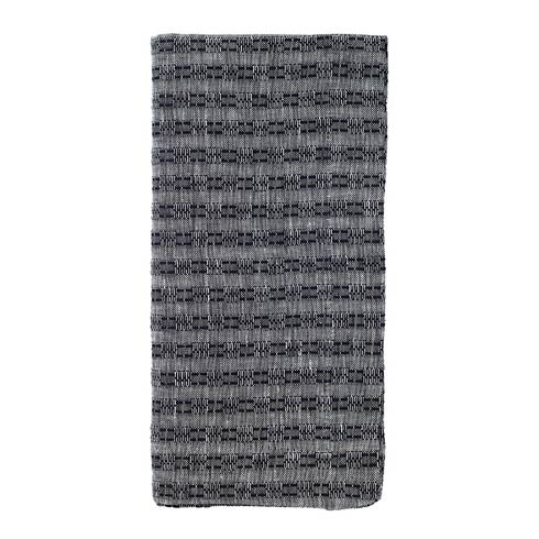 "Bodrum  Basket Weave Black 22"" Napkin - Pack of 4 $56.99"