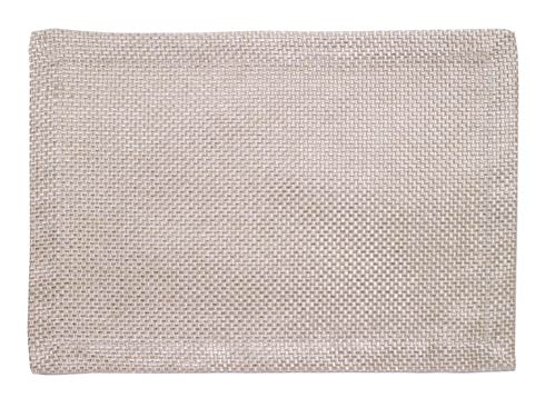 Bodrum  Lucent Pearl Coated Mat - Pack of 6 $95.00
