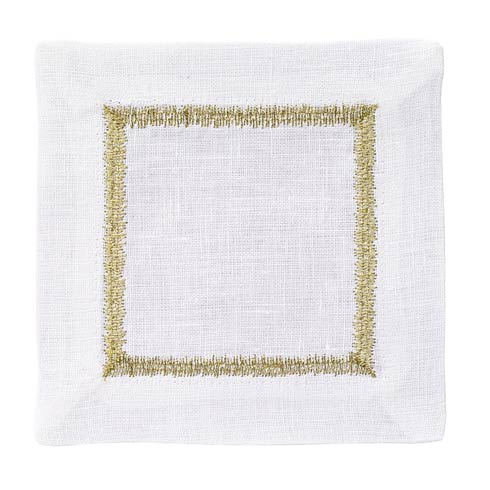 $45.00 Gold Cocktail Napkin - Pack of 4