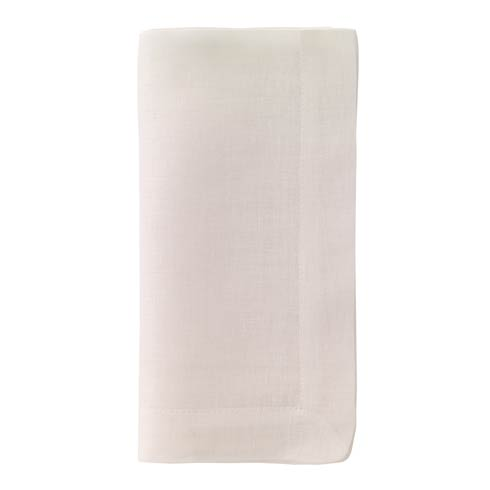 """Bodrum  Chambray Off-White 21"""" Napkins Pack of 4 $50.99"""