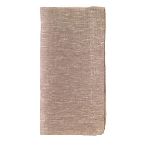 "Bodrum  Chambray Beige 21"" Napkins Pack of 4 $46.99"