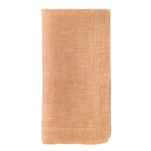 """$50.99 Apricot 21"""" Napkins Pack of 4"""