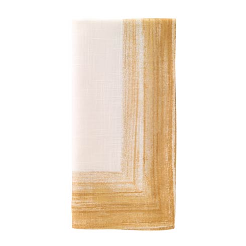 "Bodrum  Cornice Light Gold 22"" Napkin Pack of 4 $90.00"