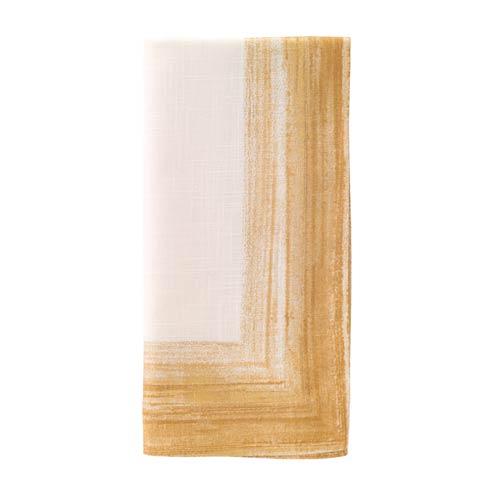 "Bodrum  Cornice Light Gold 22"" Napkin Pack of 4 $90.00"