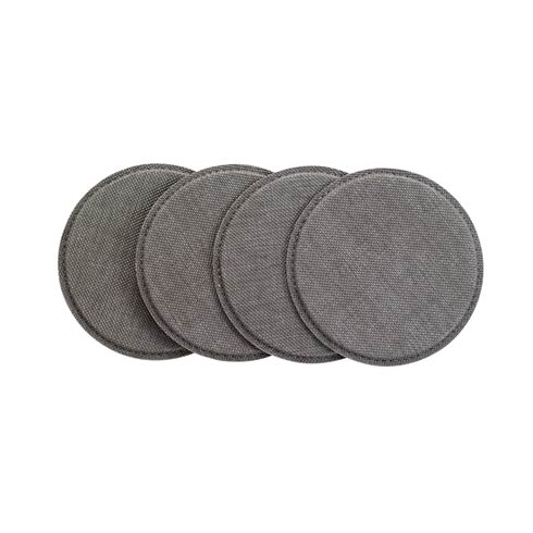 Bodrum  Pronto Coaster Sets Gray Round Coaster Set of 4 $23.00