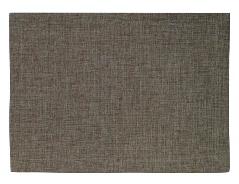 Bodrum  Twill Slate Coated Mat - Pack of 6 $64.99