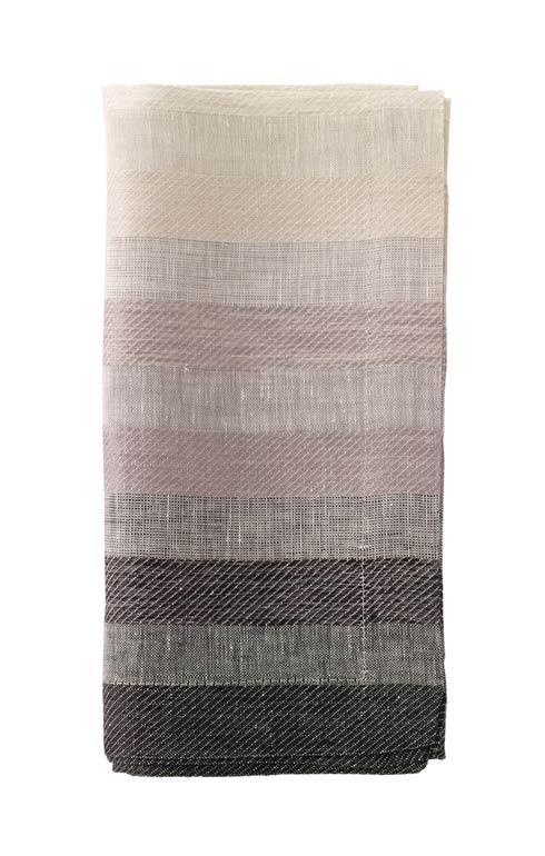 "Bodrum  Gradient Stripe Black 22"" Napkin - Pack of 4 $95.00"