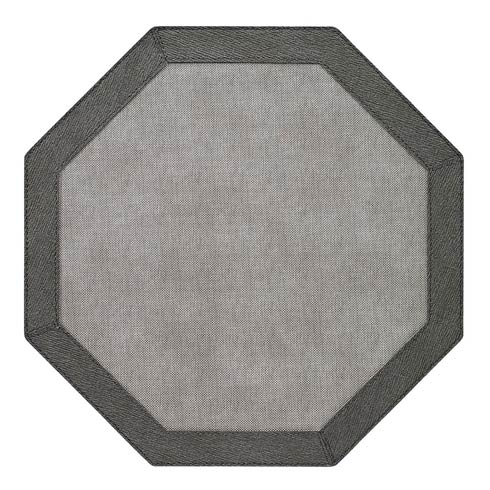 Bodrum  Bordino Gray Charcoal Octagon Masts - Pack of 4 $108.00