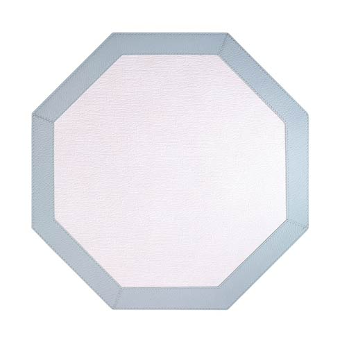 $108.00 Ant White Celadon Octagon Mats - Pack of 4