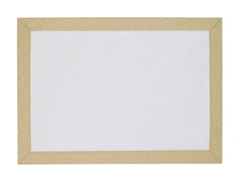 Bodrum  Bordino Gold Sparkle rectangle Mat - Pack of 6 $114.99