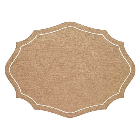$114.99 Tobacco Cream Mats - Pack of 4