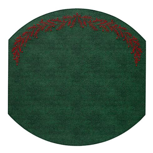 Bodrum  Holly Forest Red Mats - Pack of 4 $144.00