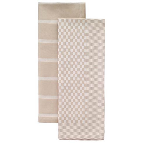$54.00 Beige Dish Towel Set - Pack of 2