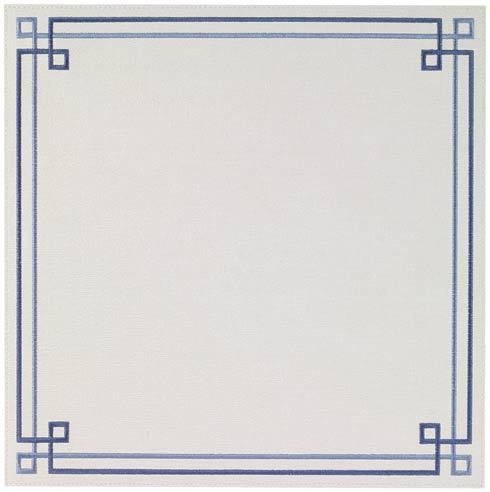 Bodrum  Link Blue Mats - Pack of 4 $126.00