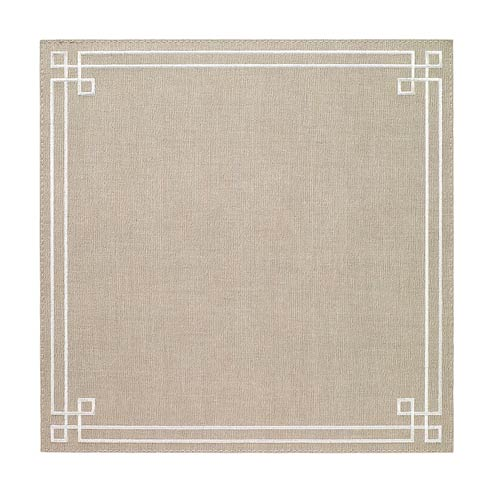 Bodrum  Link Oatmeal White Mats - Pack of 4 $126.00
