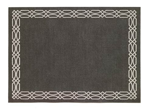 $189.00 Charcoal Silver Mat - Pack of 6