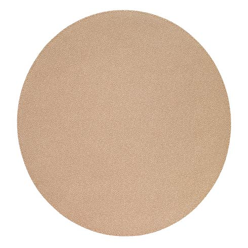 "Bodrum  Skate Rose Gold 16"" Round Mats - Pack of 4 $108.00"