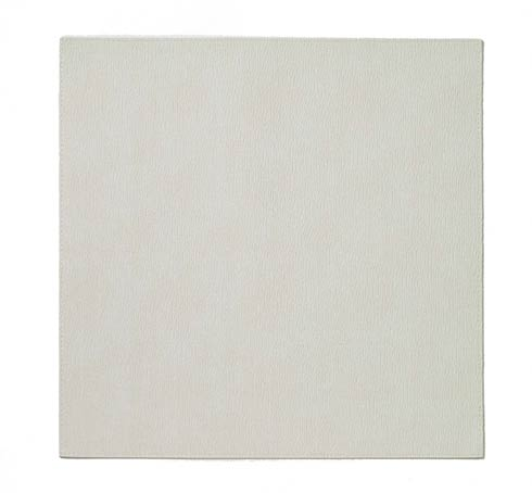 """$78.99 Antique White 15"""" Sq Mat - Pack of 6"""