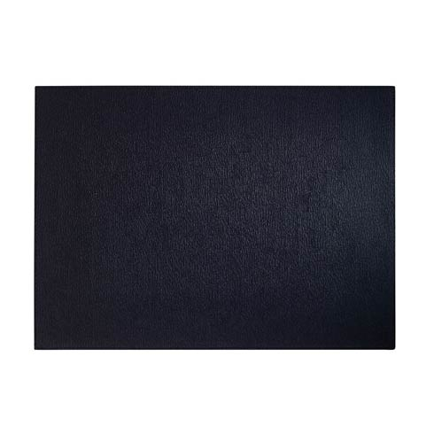 $86.00 Black Rectangle Mats - Pack of 4