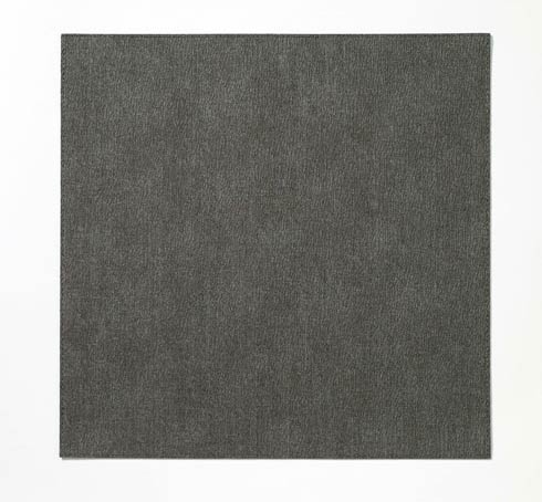"""$86.00 Charcoal 15"""" Sq Mat - Pack of 4"""