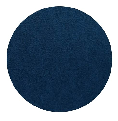 "Bodrum  Presto Navy 15"" Round Mat - Pack of 4 $86.00"