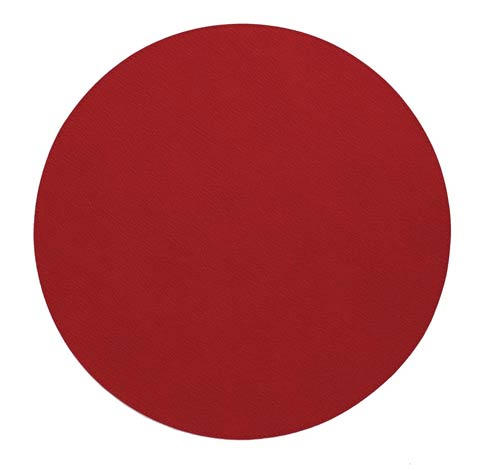 "Bodrum  Presto Red 15"" Round Mat - Pack of 4 $86.00"