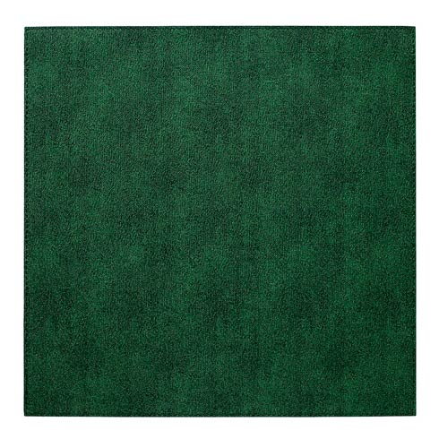 """$52.99 Forest 15"""" Sq Mats - Pack of 6"""