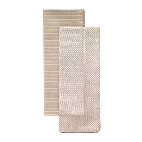 $34.99 Beige Dish Towel Set - Pack of 2