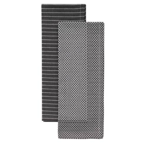 $54.00 Gray Dish Towel Set - Pack of 2